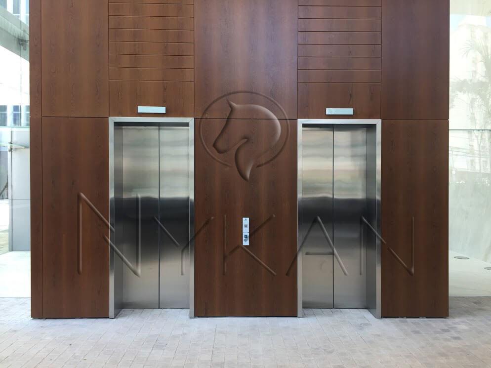 Batente elevador